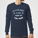 it-s-the-most-wonderful-time-of-the-year-christmas-sweatshirt-navy-s-marineblau