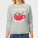 merry-slothmas-women-s-christmas-sweatshirt-grey-xxl-grau
