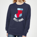 well-hung-women-s-christmas-sweatshirt-navy-l-marineblau