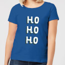 ho-ho-ho-women-s-christmas-t-shirt-royal-blue-s-royal-blue
