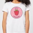 berry-christmas-women-s-christmas-t-shirt-white-m-wei-