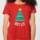 get-lit-women-s-christmas-t-shirt-red-l-rot, 17.99 EUR @ sowaswillichauch-de