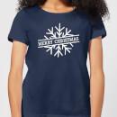 merry-christmas-women-s-christmas-t-shirt-navy-s-marineblau