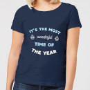 it-s-the-most-wonderful-time-of-the-year-women-s-christmas-t-shirt-navy-s-marineblau