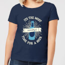 it-s-the-most-wonderful-time-for-a-beer-women-s-christmas-t-shirt-navy-s-marineblau