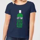 let-the-christmas-fun-be-gin-women-s-christmas-t-shirt-navy-xl-marineblau