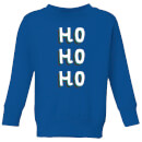 ho-ho-ho-kids-christmas-sweatshirt-royal-blue-7-8-jahre-royal-blue