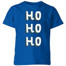ho-ho-ho-kids-christmas-t-shirt-royal-blue-7-8-jahre-royal-blue