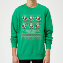 flossing-through-the-snow-sweatshirt-kelly-green-s-kelly-green