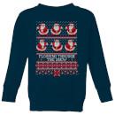 flossing-through-the-snow-kids-sweatshirt-navy-9-10-jahre-marineblau