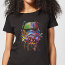 Star Wars Camiseta Star Wars Stormtrooper Pintura - Mujer - Negro - 5XL - Negro Negro XXXXXL