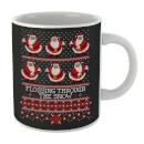 flossing-through-the-snow-mug