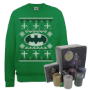 dc-batman-logo-christmas-jumper-and-joker-poker-bundle-kelly-green-m-kelly-green