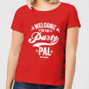 die-hard-welcome-to-the-party-pal-damen-christmas-t-shirt-rot-s-rot