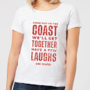 die-hard-come-to-the-coast-damen-christmas-t-shirt-wei-3xl-wei-