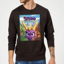 spyro-face-scene-sweatshirt-black-s-schwarz