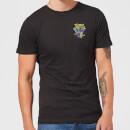 Retro Pocket Men's T-Shirt - Black - L - Negro Negro L
