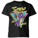 spyro-retro-kinder-t-shirt-schwarz-11-12-jahre-schwarz