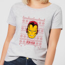 marvel-iron-man-face-women-s-christmas-t-shirt-grey-s-grau