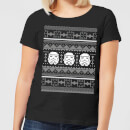 star-wars-stormtrooper-knit-women-s-christmas-t-shirt-black-xs-schwarz