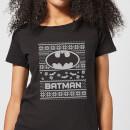 dc-batman-damen-christmas-t-shirt-schwarz-l-schwarz