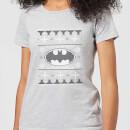dc-batman-knit-damen-christmas-t-shirt-grau-l-grau