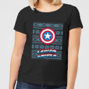 marvel-captain-america-women-s-christmas-t-shirt-black-s-schwarz