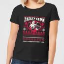 dc-harley-quinn-damen-christmas-t-shirt-schwarz-l-schwarz