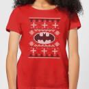 dc-batman-knit-women-s-christmas-t-shirt-red-xs-rot, 17.99 EUR @ sowaswillichauch-de