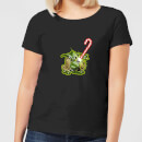 star-wars-candy-cane-yoda-women-s-christmas-t-shirt-black-5xl-schwarz