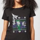 dc-joker-damen-christmas-t-shirt-schwarz-l-schwarz