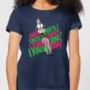 elf-santa-i-know-him-women-s-christmas-t-shirt-navy-xxl-marineblau