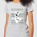 frozen-olaf-dancing-women-s-christmas-t-shirt-grey-4xl-grau