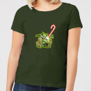 star-wars-candy-cane-yoda-women-s-christmas-t-shirt-forest-green-m-forest-green