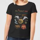 harry-potter-all-i-want-damen-christmas-t-shirt-schwarz-4xl-schwarz
