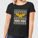 dc-wonder-woman-damen-christmas-t-shirt-schwarz-l-schwarz