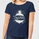 harry-potter-yule-ball-baubel-damen-christmas-t-shirt-navy-blau-s-marineblau