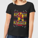 marvel-iron-man-women-s-christmas-t-shirt-black-s-schwarz