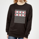 marvel-deadpool-snowflakes-women-s-christmas-sweatshirt-black-3xl-schwarz