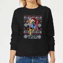 marvel-thor-women-s-christmas-sweatshirt-black-s-schwarz