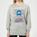 marvel-captain-america-face-women-s-christmas-sweatshirt-grey-5xl-grau
