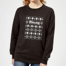 marvel-punisher-women-s-christmas-sweatshirt-black-m-schwarz