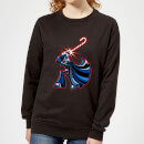 star-wars-candy-cane-darth-vader-women-s-christmas-sweatshirt-black-xs-schwarz