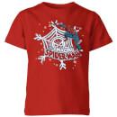 marvel-spider-man-kids-christmas-t-shirt-red-11-12-jahre-rot, 14.99 EUR @ sowaswillichauch-de