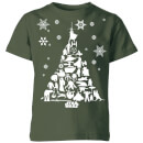 star-wars-character-christmas-tree-kids-christmas-t-shirt-forest-green-11-12-jahre-forest-green