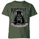 star-wars-darth-vader-humbug-kids-christmas-t-shirt-forest-green-5-6-jahre-forest-green