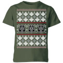star-wars-imperial-darth-vader-kids-christmas-t-shirt-forest-green-5-6-jahre-forest-green