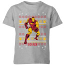 marvel-iron-man-kids-christmas-t-shirt-grey-3-4-jahre-grau