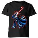 star-wars-candy-cane-darth-vader-kids-christmas-t-shirt-black-9-10-jahre-schwarz