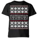 star-wars-imperial-darth-vader-kids-christmas-t-shirt-black-9-10-jahre-schwarz